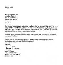 Business Thank You Letter For A Job Well Done Erpjewels Com