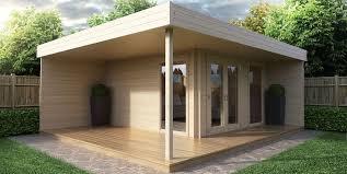 build a garden office. Garden Office Hansa Lounge Build A F