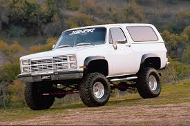 CHEVROLET Blazer car technical data. Car specifications. Vehicle ...