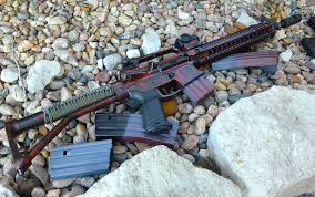 the finish for this project had to be spray can based because there was no way i was going to dump 400 on a custom cerakote job for this ugly build