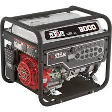 portable generators. NorthStar Portable Generator \u2014 8000 Surge Watts, 6600 Rated EPA And CARB- Generators E