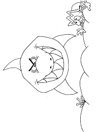 Shark Coloring Pages And Posters