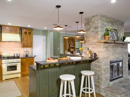 kitchen island pendant lighting ideas. Engaging Decorating Ideas Using Round White Wooden Barstools And Rectangular Silver Vent Hood Also With Kitchen Island Pendant Lighting G