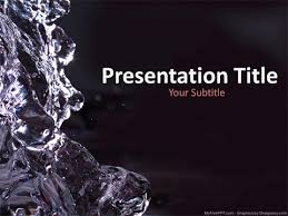 Free Save Water Powerpoint Templates Myfreeppt Com