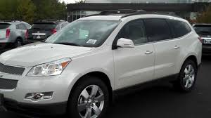 2012 Chevrolet Traverse LTZ White Diamond, Burns Chevrolet, Rock ...