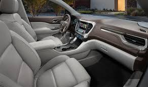 2018 gmc acadia limited. modren gmc sideview image of the front cabin in 2018 gmc acadia midsize suv in gmc acadia limited m