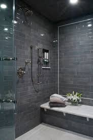 grey shower tiles. 27 Walk In Shower Tile Ideas That Will Inspire You Home Remodeling With Regard To Dark Grey Tiles Y