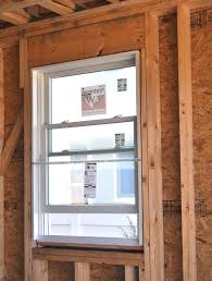replacement windows typically use sit in old rough framing