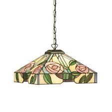 willow tiffany ceiling light medium