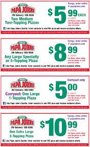 A Spotlight On Advice For Papa Johns Coupons - bill5147's soup