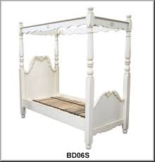King Single Bedroom Suite Four Poster Beds Heirloom Quality Furniture