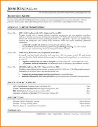 Registered Nurse Resume Template Download Good Model Doc