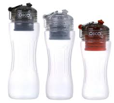water filter bottle. The Science-Powered Bottle: OKO H2O Level-2 Advanced Filtration Bottle Review - Hydration Anywhere Water Filter