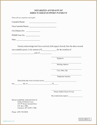 Custody Agreement Template Child Support Letters Sample 650 838 Notarized Custody