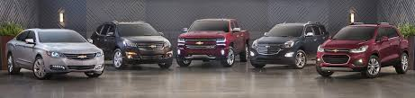 chevy linup hero image
