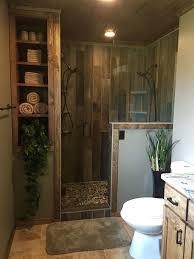 wood tile shower home designs tiles