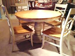 medium size of round pine dining table affordable pedestal unfinished legs l home interior with leaves