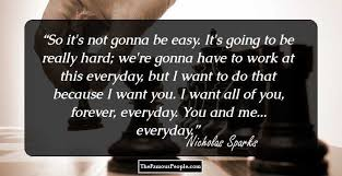 40 Greatest Nicholas Sparks Quotes To Remember Impressive Nicholas Sparks Quotes
