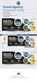 travel agency facebook cover facebook timeline covers facebook facebook cover template and banners