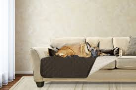 Dog bed furniture Grey Furhaven Pet Products Sofa Buddy Pet Bed Furniture Cover Furhaven Pet Products