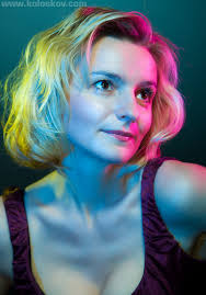 portrait photography lighting color gels example