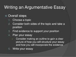 english argumentative writing writing an argumentative essay