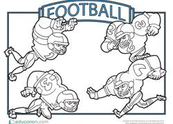 football coloring pages. Perfect Football Football Coloring Pages And N