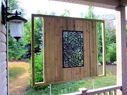... Likable Privacy Panels Garden And Outdoor Fence Facaabdcbabd 6 Ft  Fabric Screen Free Standing Diy Wooden ...