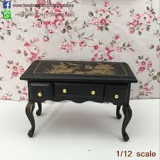 dollhouse furniture 1 12 scale. 112 scale miniature classical writing table drawing desk model antique dollhouse furniture art u0026 1 12