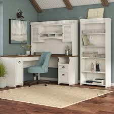 office hutch desk. Oakridge 3 Piece L-Shaped Desk Office Suite Hutch