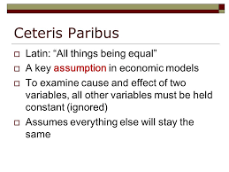 All things being equal in latin