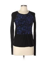 Comptoir Des Cotonniers Size Chart Details About Comptoir Des Cotonniers Women Black Long Sleeve Top S
