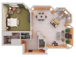 Home Design D D Plans Pinterest D House Plans And Home Design - Small apartment floor plans 3d