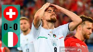 Svizzera vs Italia 0-0 Highlights & Gol