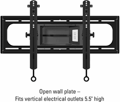 Sanus - Elite Series Tilting TV Wall Mount For Most 37