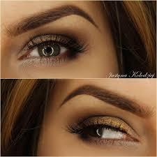 makeup geek eyeshadows in bedrock concrete and rebel look by justyna kolodziej