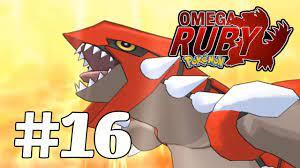 Pokemon Omega Ruby #16 - Huyền Thoại Groudon Thức Tỉnh   hướng dẫn chi tiết  các thủ thuật về game - BEM2.VN