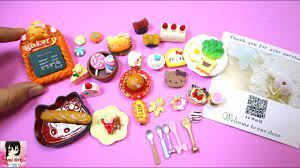 Mở gói đồ chơi 36 món ăn thu nhỏ cho búp bê / Ami DIY - YouTube