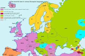 Word Origin These European Word Origin Maps Are Fascinating