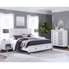 Norah Cal King Storage Bed -White