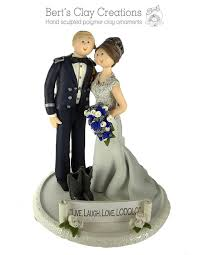 Bride Groom Cake Topper By Berts Clay Creations Berts Clay