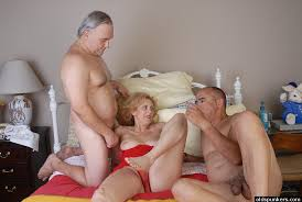 Old mature threesomes mmf
