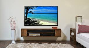 Wall Mounted TV Stand Bedroom