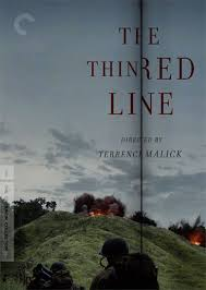 cover art for thin red line criterion release  thanks