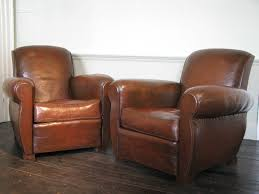 leather club chairs vintage. Awesome Collection Of Good Pair 1930s French Leather Club Chairs Armchairs Vintage E