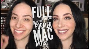senegence full face by former mac makeup artist