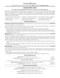Executive Resume Template Free Executive Resume Templates Resume