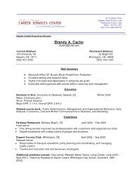 How To Write A Resume Experience No Job Experience Resume Resume