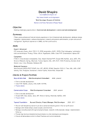 Resume Objective Statement Example Berathen Com