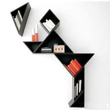 meubels 7 cubes wall mounted shelf